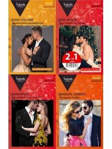 2020 spalis–gruodis Svajonių romanų rinkinys (4 knygos)