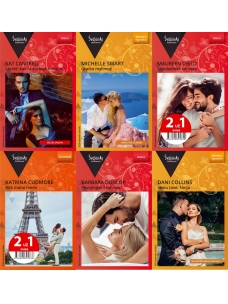 2020 balandis-birželis Svajonių romanų rinkinys (6 knygos)
