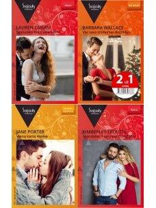 2021 rugsėjis–gruodis Svajonių romanų rinkinys (4 knygos)