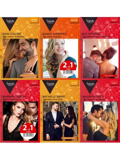 2020 sausis-kovas Svajonių romanų rinkinys (6 knygos)