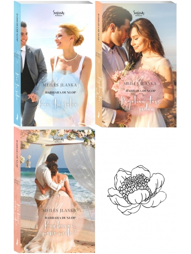 Barbara Dunlop. Meilės įlanka. (3 knygos)