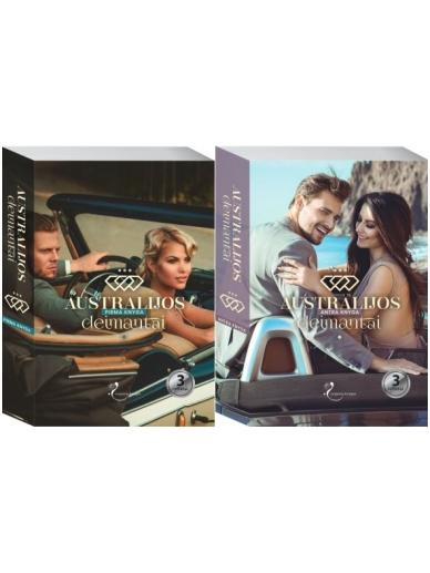 Dviejų knygų serija Australijos deimantai (2 knygos)