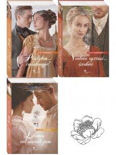 Jenni Fletcher. Meilės uostas (3 knygos)