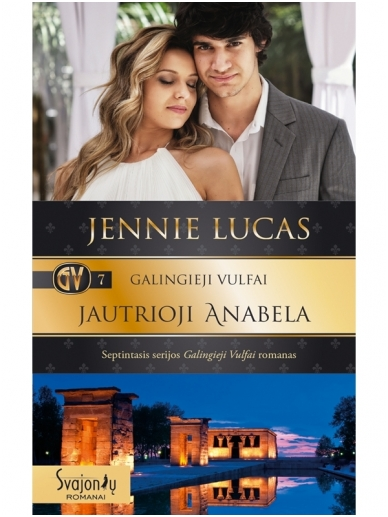 Jennie Lucas. Galingieji Vulfai. Jautrioji Anabela (7 knyga)