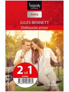 Jules Bennett. Didžiausias prizas (2016 sausis–vasaris)