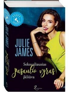Julie James. Seksualiausias pasaulio vyras įkliūva (Knyga su defektais)