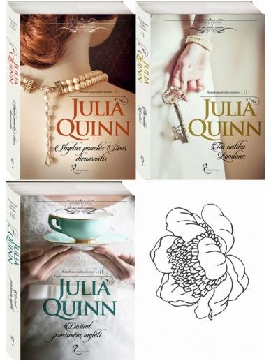 Julia Quinn. Aristokratų meilės istorijos (3 knygos)