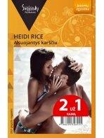 Heidi Rice. Alsuojantys karščiu (2021 gegužė–rugpjūtis)