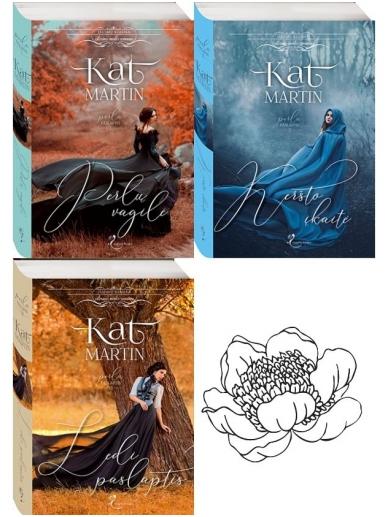 Kat Martin. Perlų paslaptis (3 knygos)