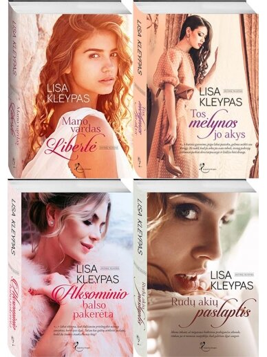 Lisa Kleypas. Trevisų šeima (4 knygos)