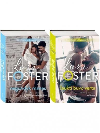 Lori Foster. Broliai Gatriai: saldi pagunda (2 knygos)
