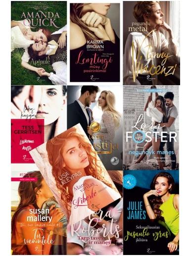 Metų iššūkis: TOP 10 knygų romantikių romantikei