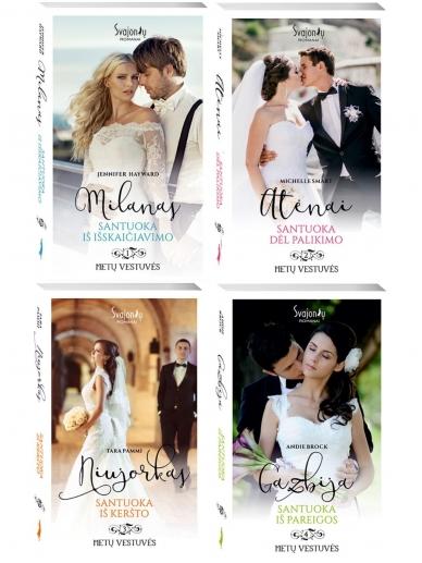 Metų vestuvės (4 knygos)