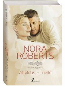 Nora Roberts. Atpildas – meilė (Knyga su defektais)