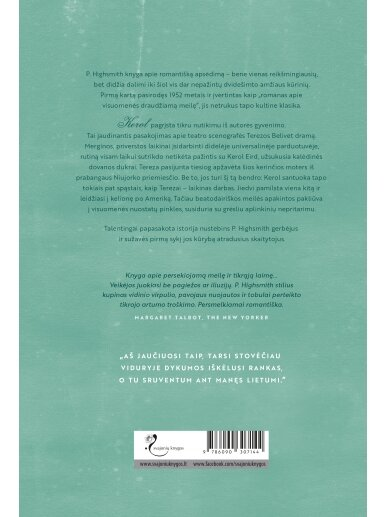 Patricia Highsmith. Kerol