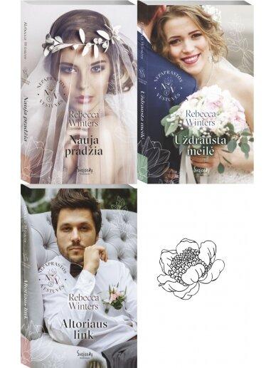 Rebecca Winters. Nepaprastos vestuvės (3 knygos)