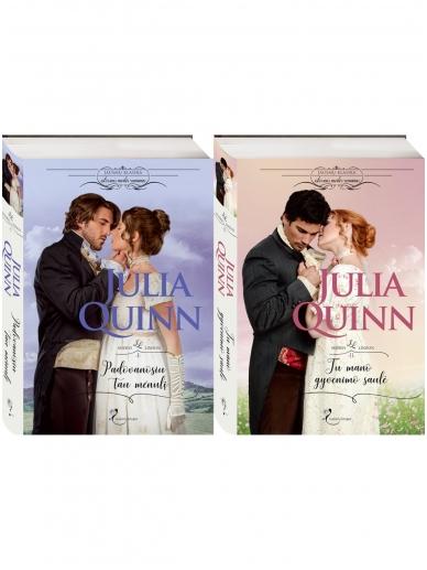 Julia Quinn. Seserys Lindon (2 knygos)