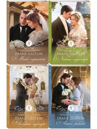 Diane Gaston. Skandalingieji Samerfildai (4 knygos)