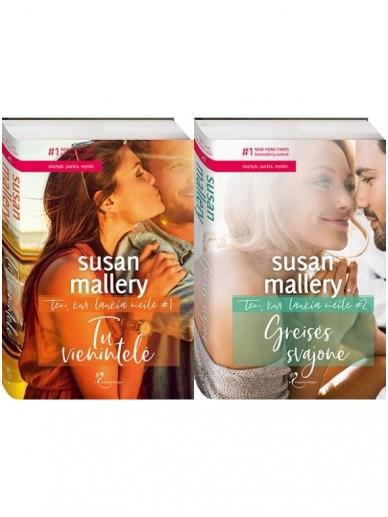 Susan Mallery. Ten, kur laukia meilė (2 knygos)