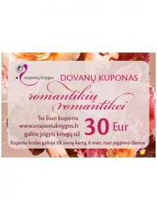 Svajonių knygų elektroninis DOVANŲ KUPONAS 30 Eur