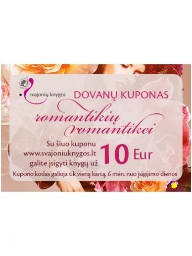 Svajonių knygų elektroninis DOVANŲ KUPONAS 10 Eur
