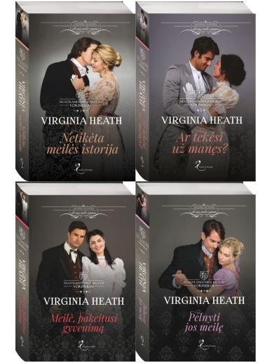 Virginia Heath. Nesutramdomieji broliai Vorineriai (4 knygos)